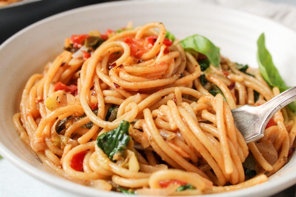 One-Pot whole wheat pasta